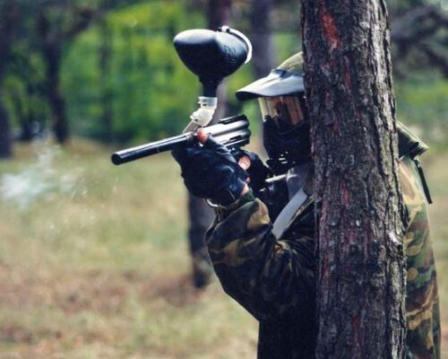 Stag Paintballing