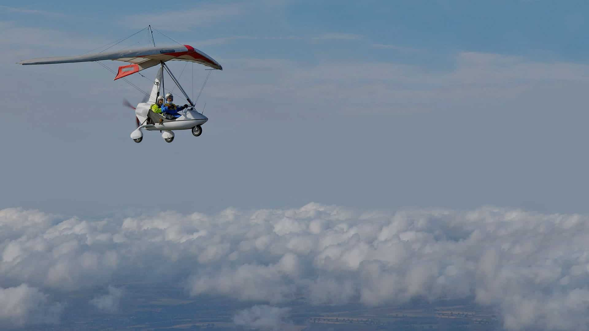 Adventure Tours NI microlight flying
