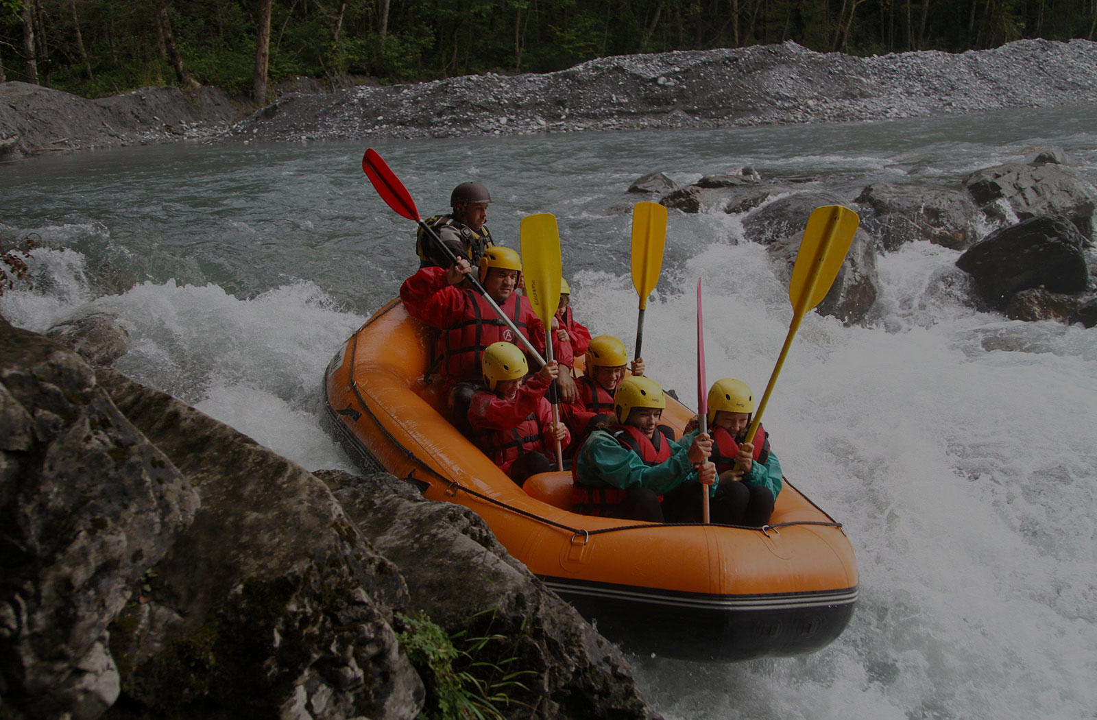 Adventure Tours NI white water rafting