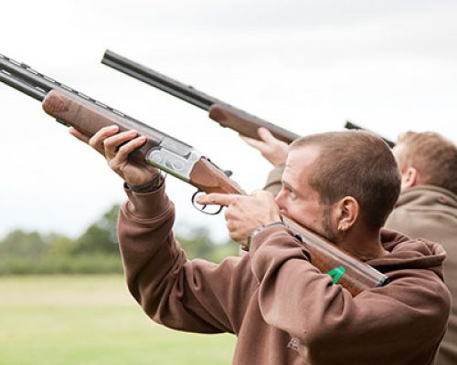 Stag Clay Pigeon Shooting
