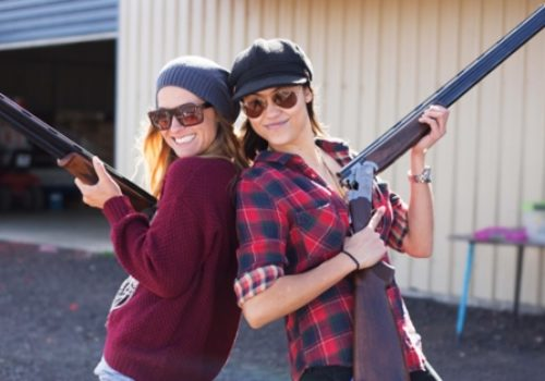 Hen Clay Pigeon Shooting